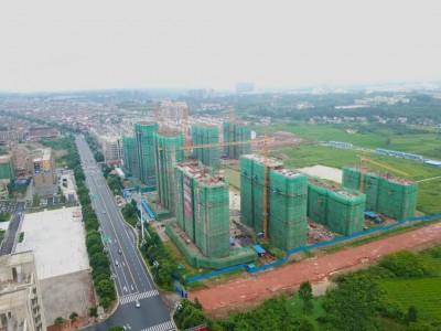 2020年7月桂发御园高空全景