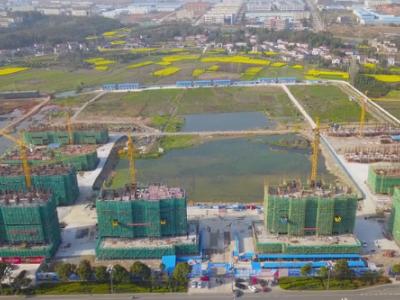 桂发御园2020年03月高空实景航拍
